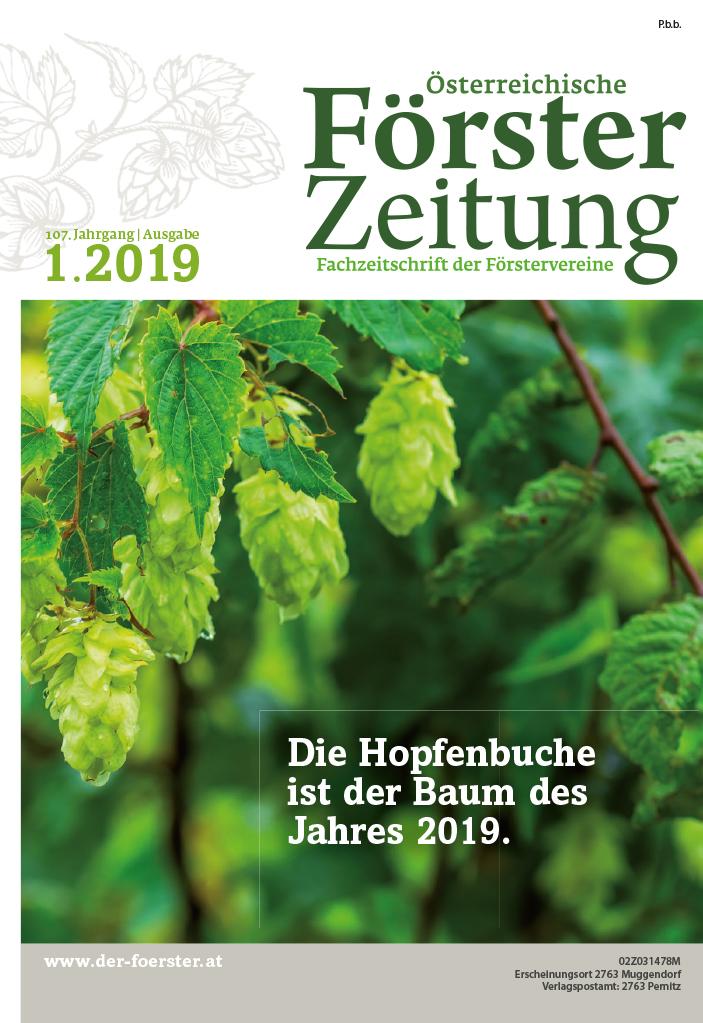 Försterzeitung 1 2019