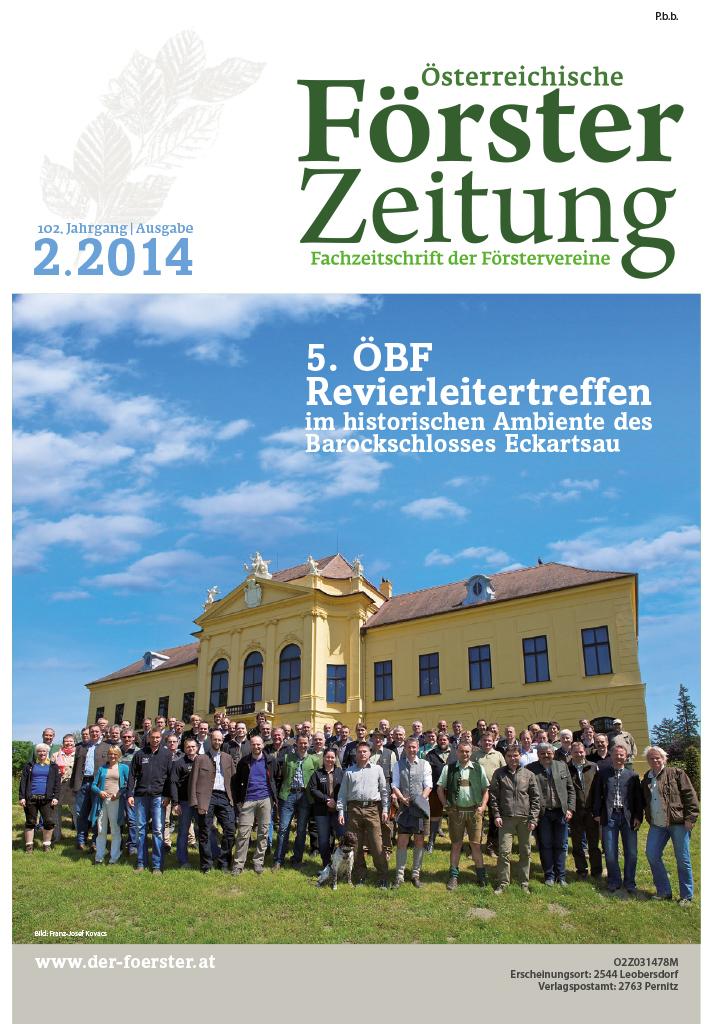 Försterzeitung 2 2014