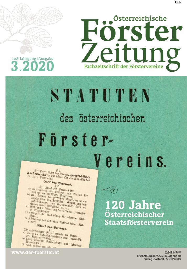 Försterzeitung 3 2020