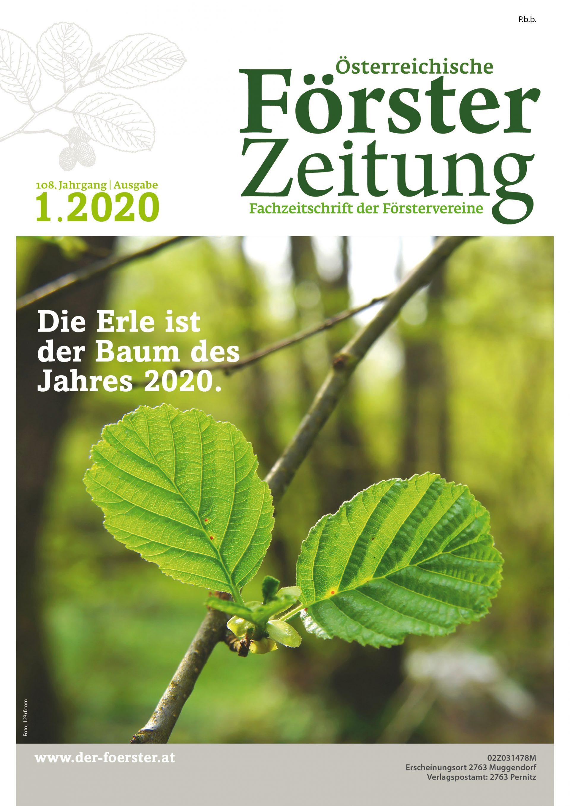 Försterzeitung 1/2020