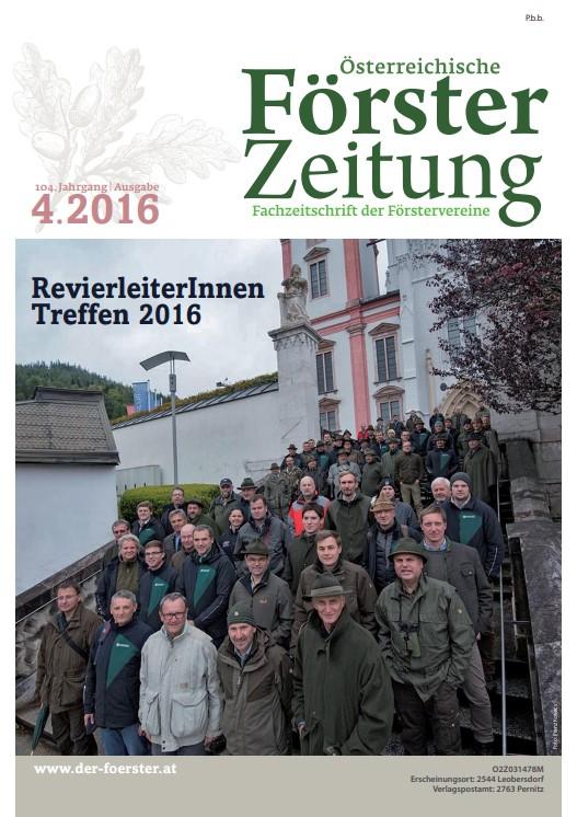 Försterzeitung 4/2016
